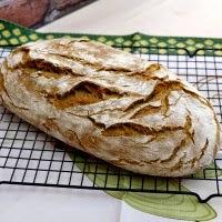 chleb pszenno- żytni z prażoną mąką