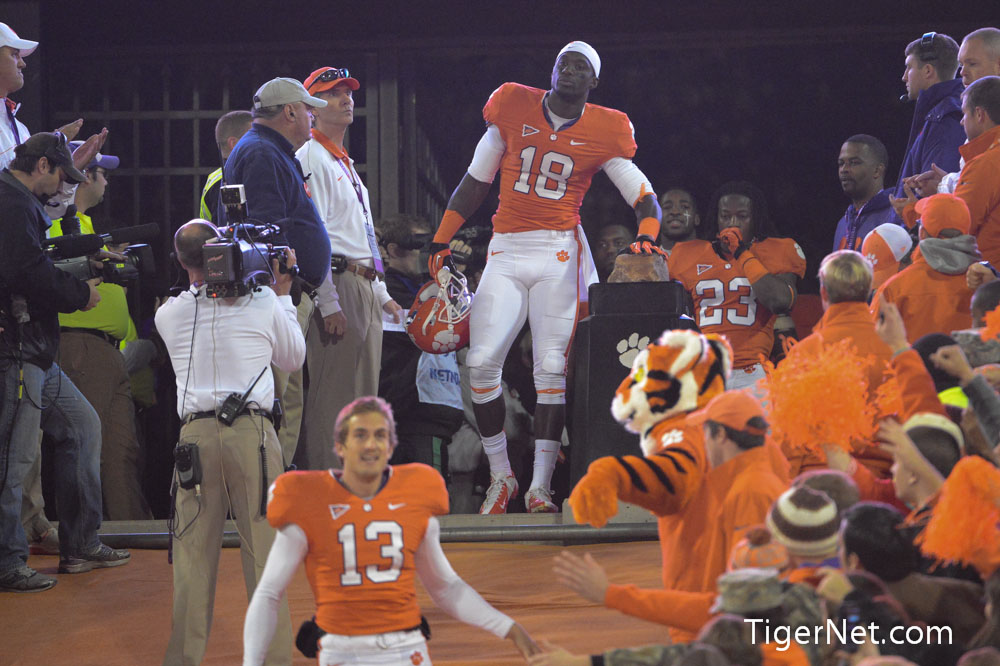Clemson vs. South Carolina - Seniors on the Hill Photos - 2012, Football, Jaron Brown, Seniors, South Carolina