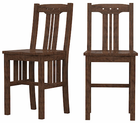 Colonial Barstool in Weathered Maple