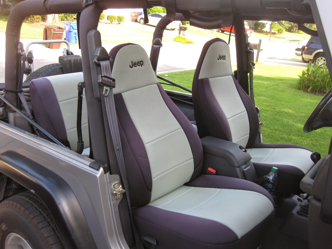 Neoprene Jeep Seat Covers >> Price: $150.00