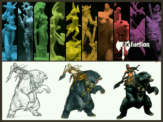 Ax Faction Miniatures