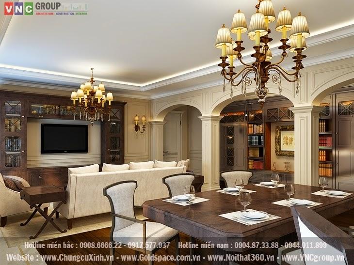 living 3 Thiết kế chung cư