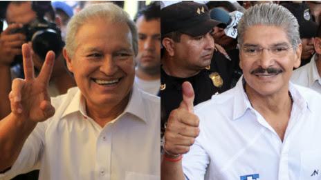 Candidatos a presidencia de El Salvador