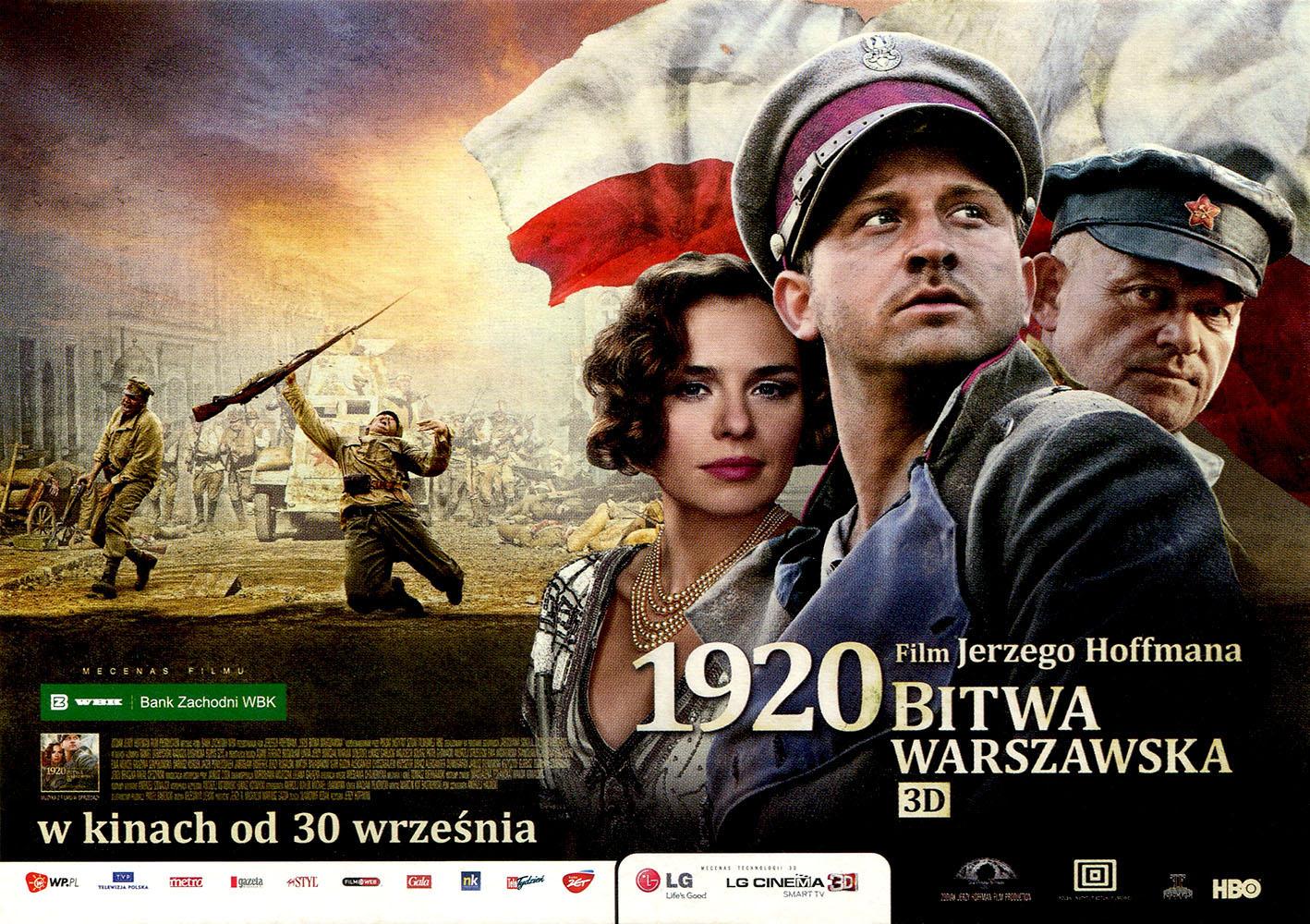 Ulotka filmu '1920 Bitwa Warszawska (przód - wersja C)'