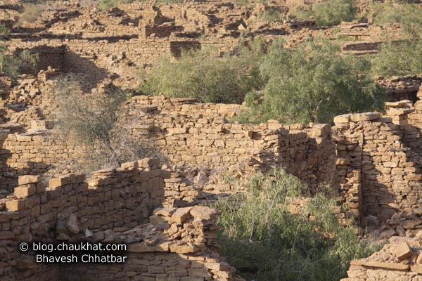 Kuldhara Village in Jaisalmer - Endless Ruins