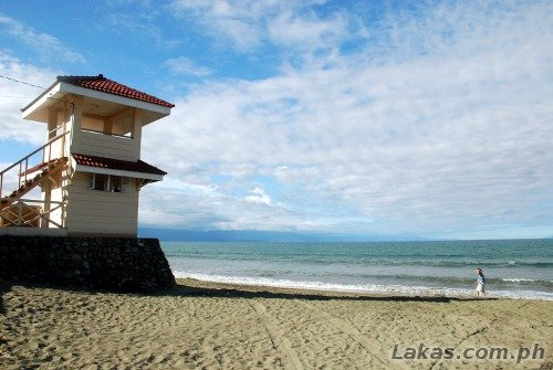 Lifeguard Tower at Sabang Beach