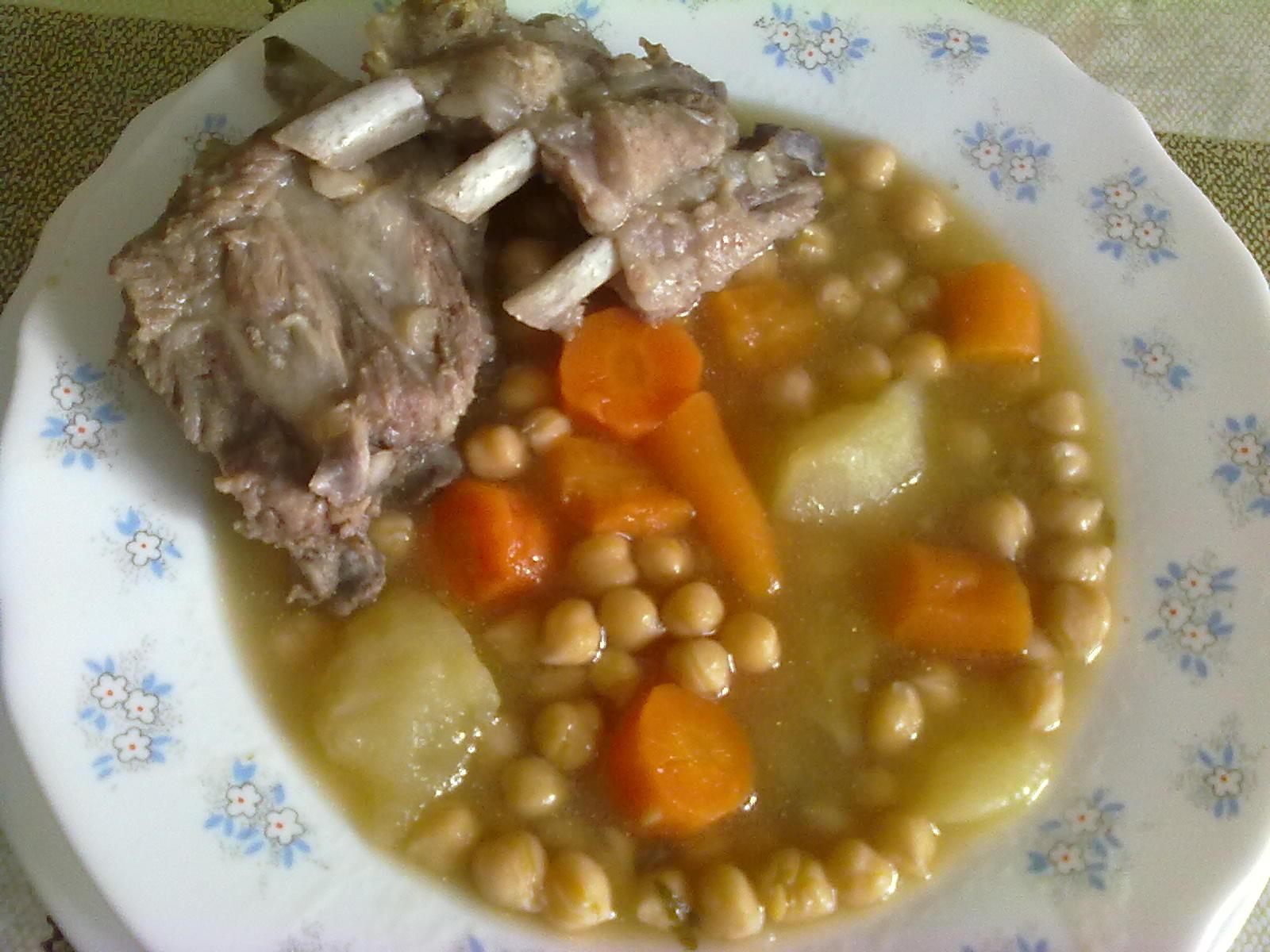 Las comidas de carmen garbanzos con costillas - Garbanzos con costillas ...