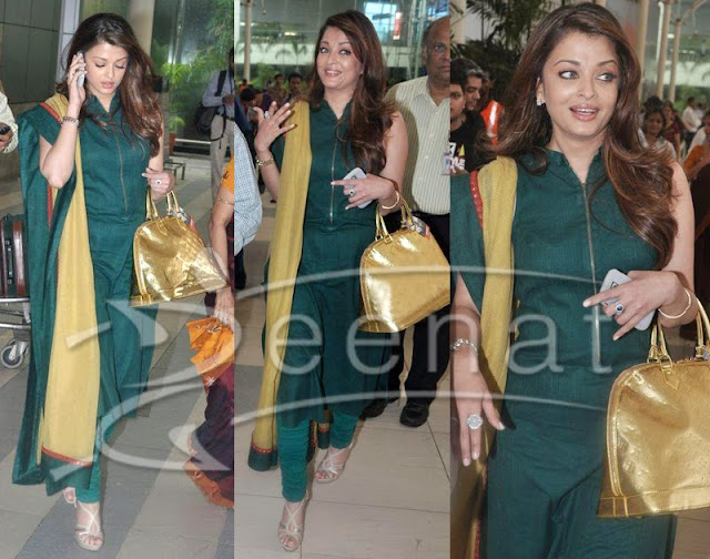 Bollwood Actress - Aishwarya Rai in Punjabi Suit