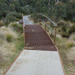 Small bridge on Bullocks Track near Thredbo Diggings (296498)