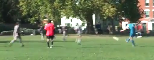 101 Golazos: Nils Tomkins (Priory Park Rangers) scores a 35 yard screamer vs Birkbeck College