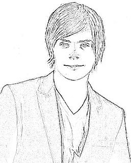 Zac Efron Sketch