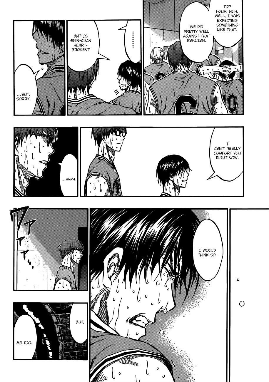 Kuroko no Basket Manga Chapter 183 - Image 08