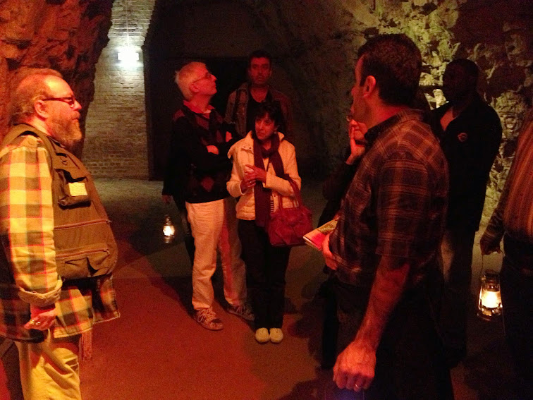 Chislehurst Caves tour guide