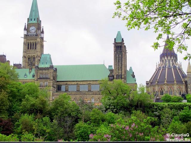 Ottawa - Parlamentul Canadei. Peace Tower