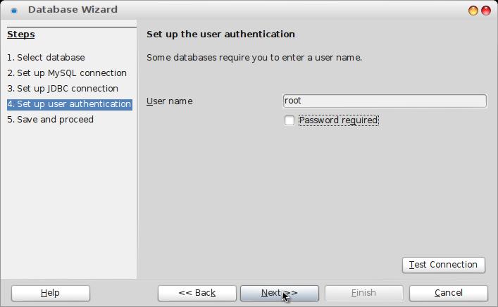 username dan password