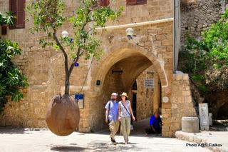 Парящий апельсин в Яффо. Экскурсия Тель-Авив - Яффо. Гид в Тель-Авиве и Яффо Светлана Фиалкова.