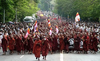 Buddhist Monks Vow Anti Government Protests Image