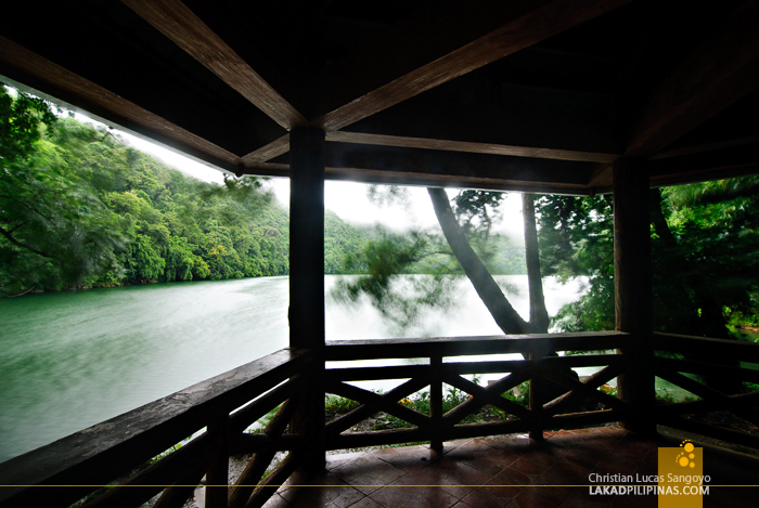 Gazebo at Sorsogon's Lake Bulusan
