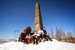 3 marzo 2013 - ciaspolata a Monte La Fine - Foto Raggi