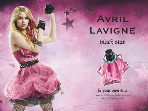 Black Star (fragrance), Avril Lavigne Single on Goodbye ...