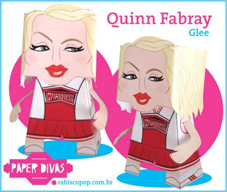 Glee Quinn Fabray Papercraft
