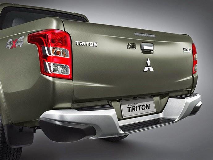Album Mitsubishi Cần Thơ trình làng mẫu xe Triton Pickup mới 2015