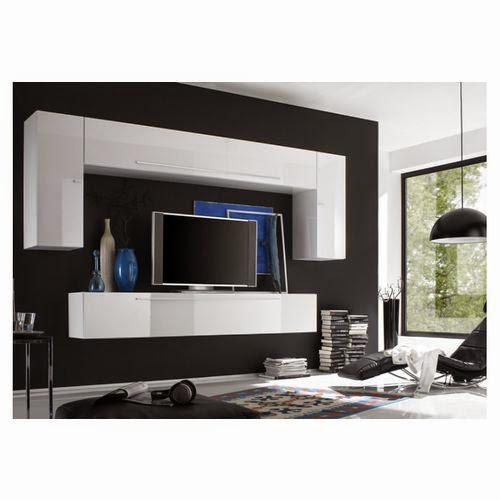 dix meubles tv suspendus au mur. Black Bedroom Furniture Sets. Home Design Ideas