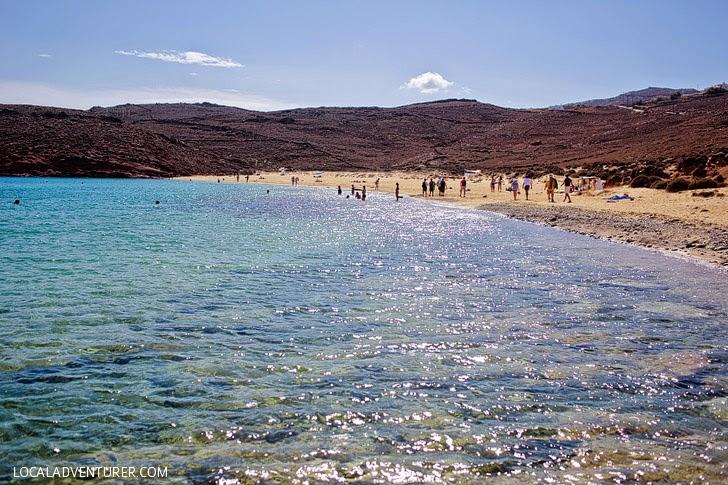 Agios Sostis Beach - Best Beaches in Mykonos.