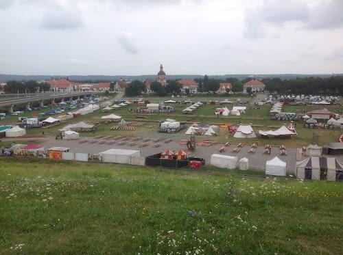 Das MPS Gelände in Dresden