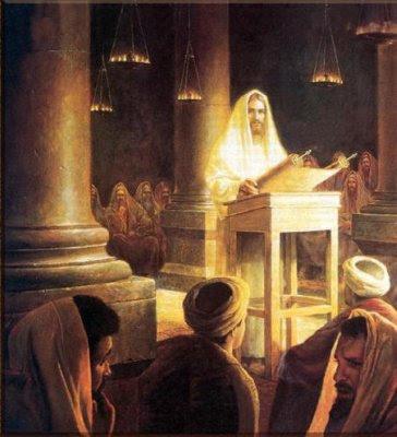 jesus ante el público