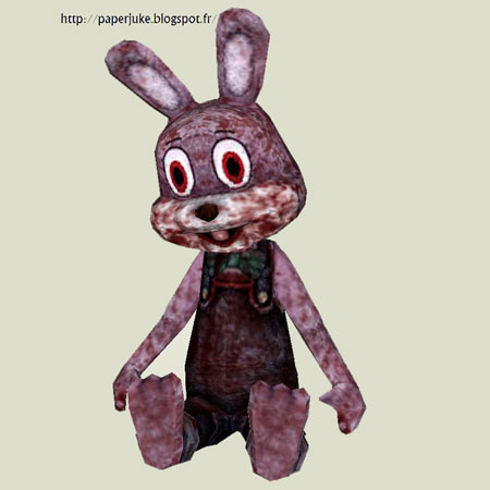 Robbit the Rabbit Papercraft