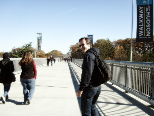 Starting our little walk over the Walkway-over-the-Hudson