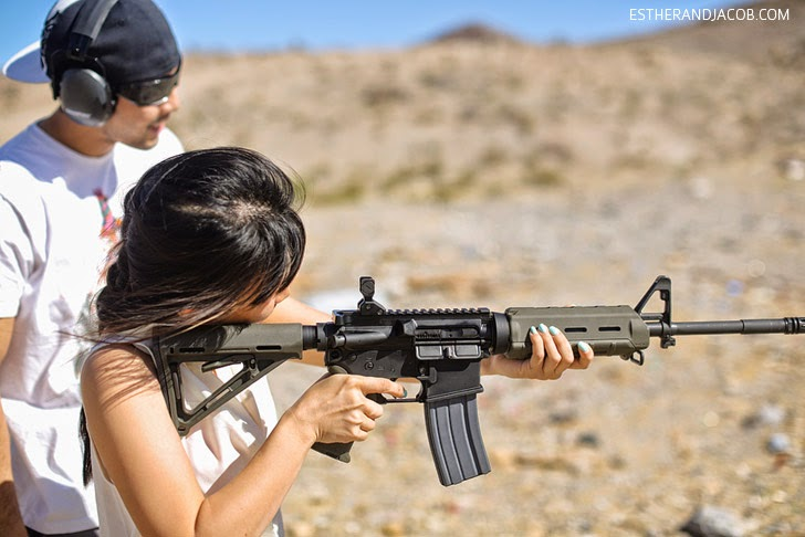 Outdoor Gun Ranges in Las Vegas.