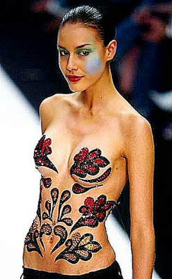 Asian Body Art  Cool Eyecatching tatoos