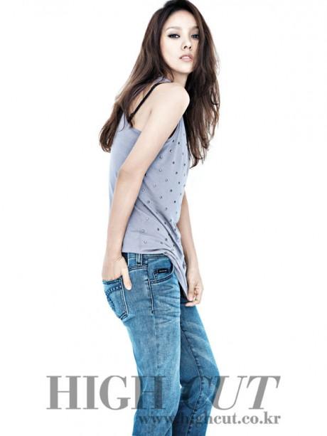 Lee Hyori Calvin Klein Jeans