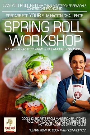 Spring Roll workshop