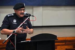 Reaksi Wajah Ketua Polis Pulau Pinang