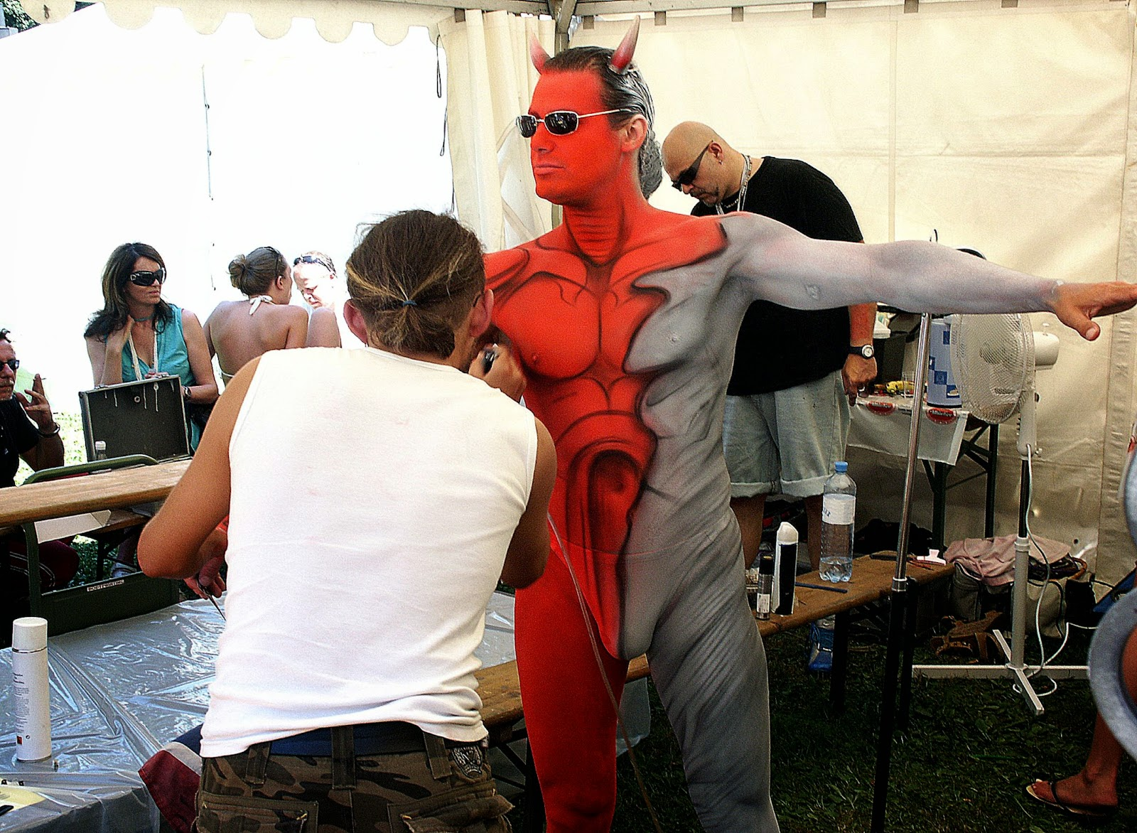 Muscular gay hentai