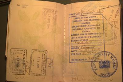 Visado de Kenia