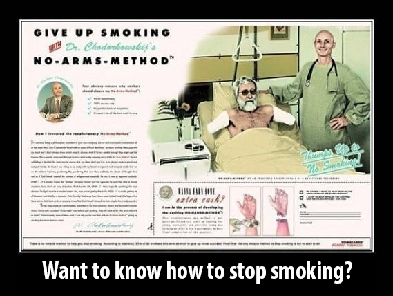 How To Stop Smoking Funny