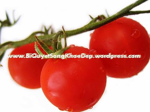 Trị nám da bằng cà chua được ưa chuộng