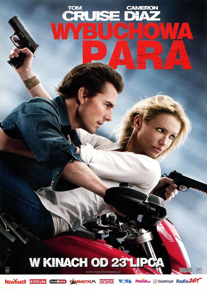 Ulotka filmu 'Wybuchowa Para (przód)'