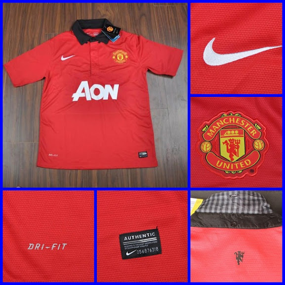 Jual Jersey Manchester United Home 2014