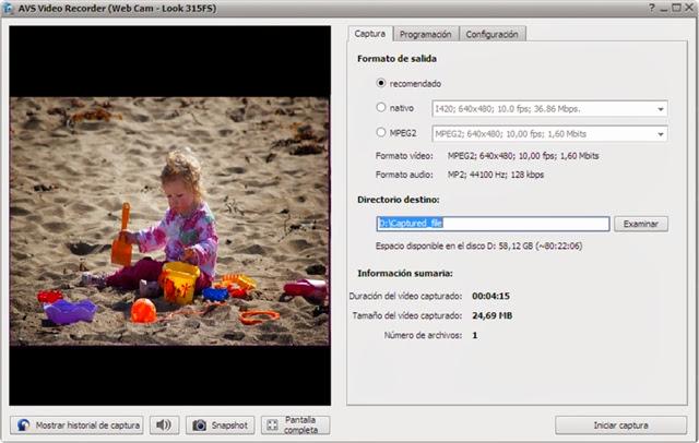 AVS Video Recorder 2.6.1.94 Capturando videos 2013-12-27_00h19_12