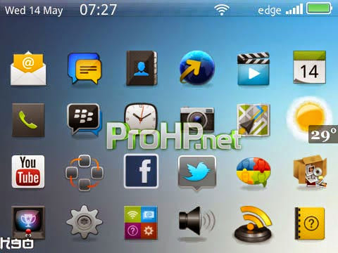 Chic Bar Themes for BlackBerry