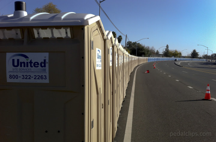 port-o-potties