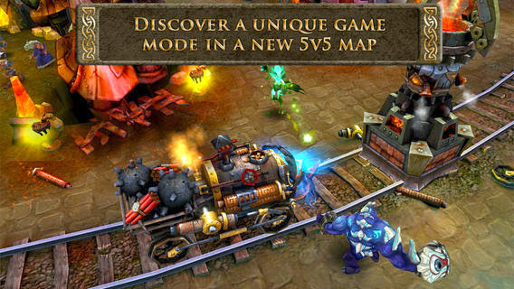 Heroes of Order & Chaos - Multiplayer Online Game v1.5.0 for iPhone/iPad