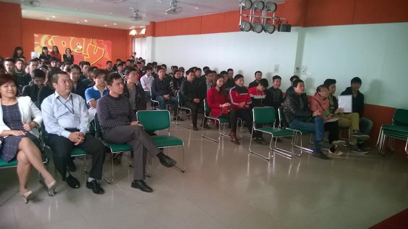 """Sinh viên Cao đẳng thực hành FPT Polytechnic tham dự Open talk """"Cơ hội việc làm dành cho sinh viên"""""""