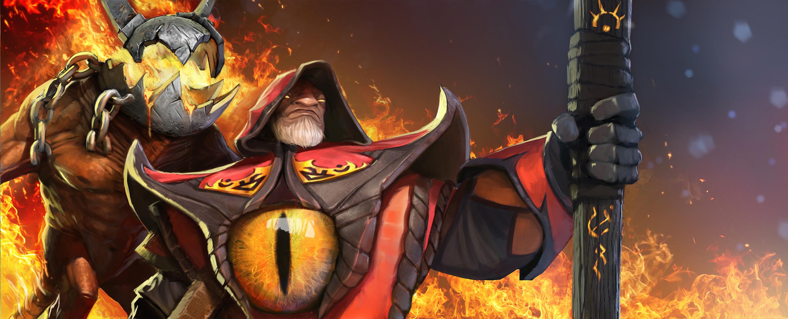 Loạt ảnh nguyên họa của các hero trong DotA 2 - Ảnh 5