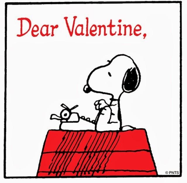 Snoopy: Dear Valentine,